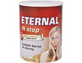 ETERNAL IN Stop je izolačná interiérová náterová hmota zabraňujúca prieniku škvrn z podkladu.