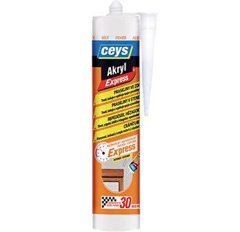 Akryl express praskliny v stene, Akrylový tmel, Rýchle opravy prasklín,