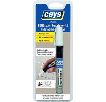 Bielič škár, opravná ceruzka na škáry, obnovuje farbu špár,