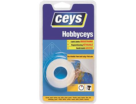 Obojstranná páska Hobbyceys, jednoduché lepenie pomocou pásky,