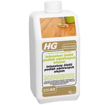 Intenzívny čistič podláh ošetrených olejom
