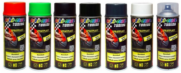 SprayPlast, Dupli-color, PlastiDip, ochrana laku, farba na kolesa, farba na disky, ochrana na disky,