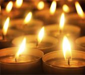 sviečky, náhrobné kamene, všetkých svätých,