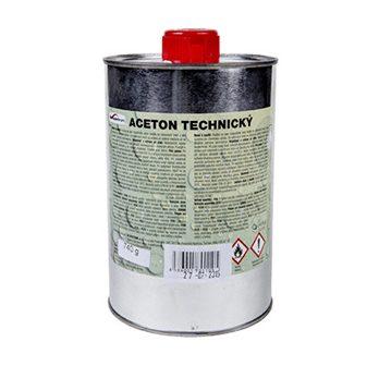 Acetón technický, odmasťovanie,