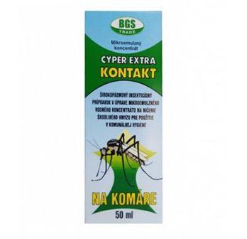 Cyper extra kontakt, na komáre, insekticíd na komáre,