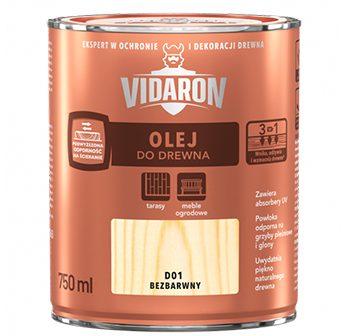 Olej na drevo Vidaron